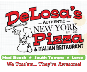 DeLosa's Pizza in Madeira Beach
