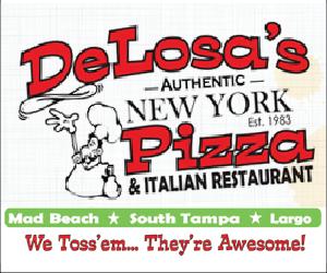 DeLosa's Pizza in Madeira Beach