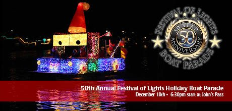 50th Annual Festival of Lights Holiday Boat Parade
