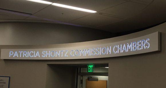 Patricia Shontz Commission Chambers