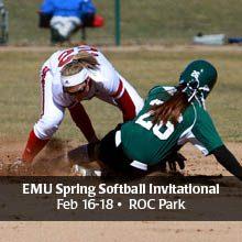 EMU Spring Softball Invitational