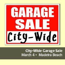Madeira Beach City Wide Garage Sale