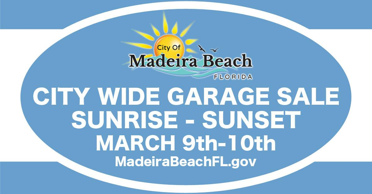 City Wide Garage Sale | Mad Beach Events | Madeira Beach Florida