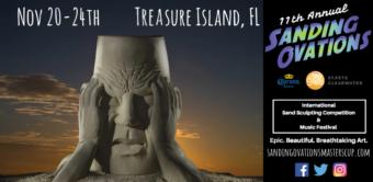 Sanding Ovations Sand Sculpture Event